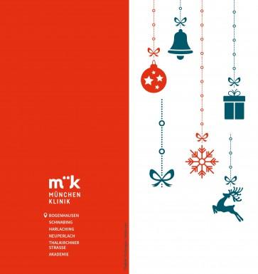 Weihnachtskarte - Blanko